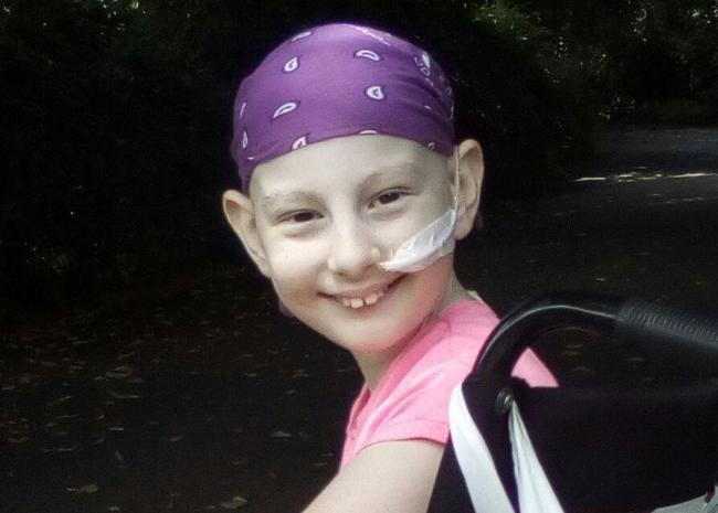 Amazing' Morrisons staff help raise £3,000 for girl with leukaemia