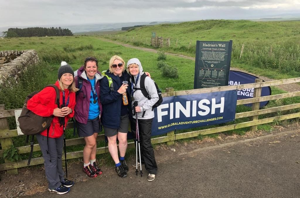 Hadrian's Wall Trek for Leukaemia & Myeloma Research UK