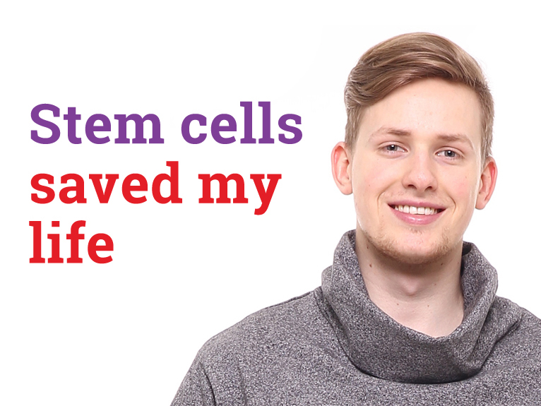 Umbilical cord blood took down Johnathon's leukaemia