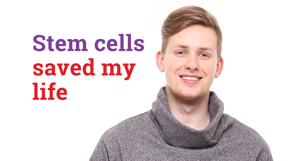 Umbilical cord blood took down Jonathan's leukaemia