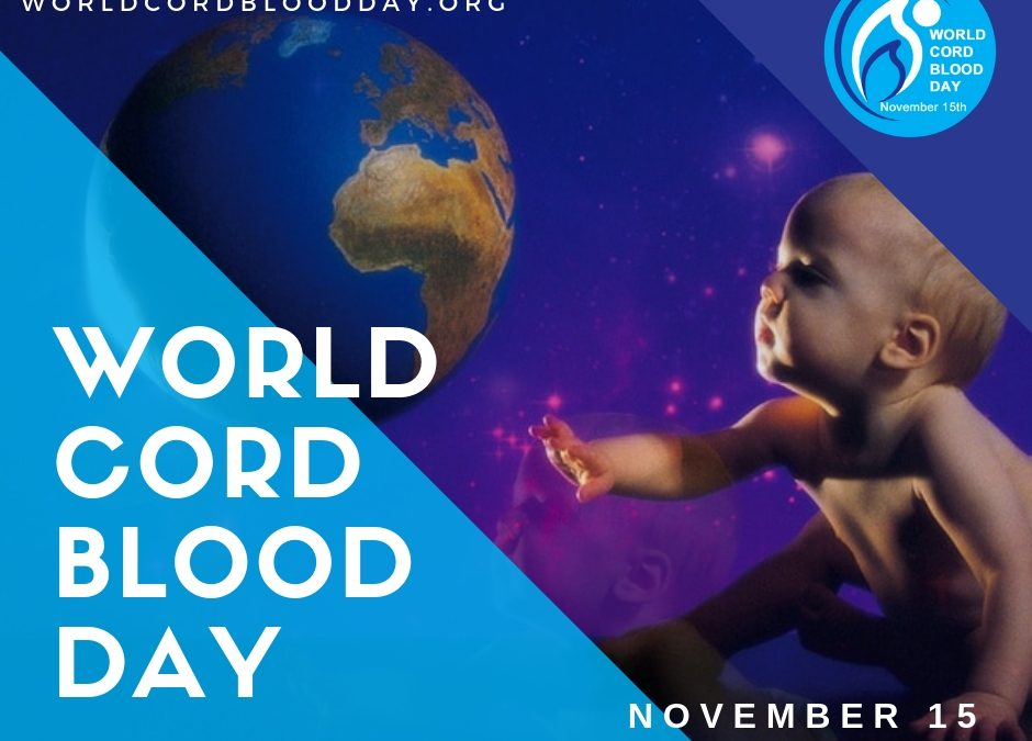 We're an Official Participant in World Cord Blood Day 2019