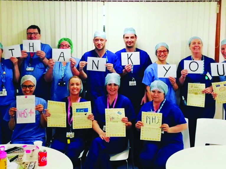 Leukaemia & Myeloma Research UK supports front line medical staff with a charitable grant