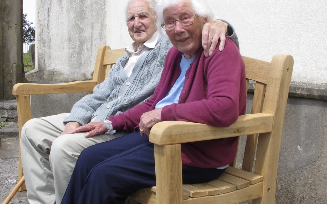 Britain's oldest married couple celebrate their oak wedding anniversary with a donation to LMRUK