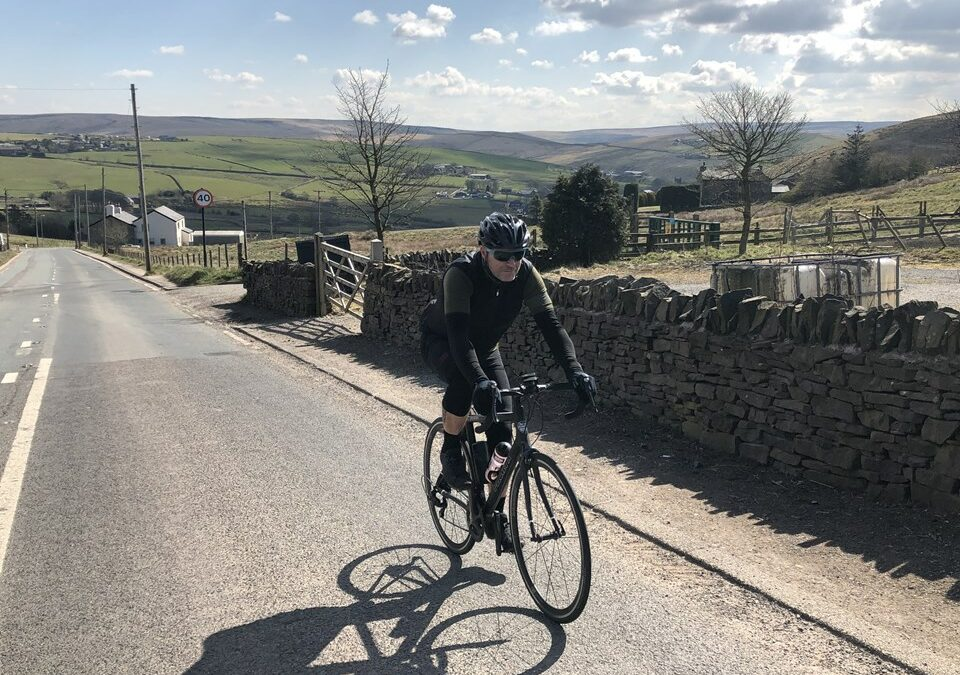Cycling from Land's End to John O'Groats for charity
